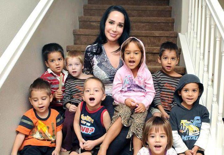 En la actualidad Nadya Suleman tiene 38 años. En 2009 dio a luz a 8 niños.(Agencias)