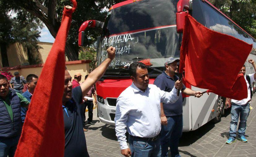 Se espera que al menos el 20 por ciento de los maestros de la Sección 22 de Oaxaca marchen en la capital. (Fuente: Cuartoscuro)
