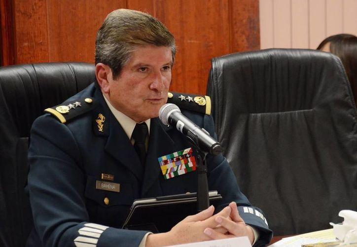 Eduardo Bahena Pineda, secretario de Seguridad Pública de Aguascalientes, dijo que pidió licencia porque se sentía cansado. (cortandoporlozano.com)
