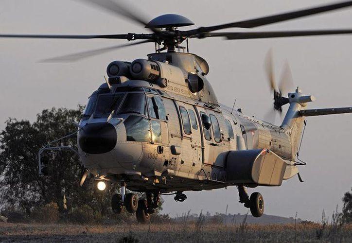 Imagen de un helicóptero H225M como los que México comprará a la empresa Airbus. (Foto: airbushelicopters.com)