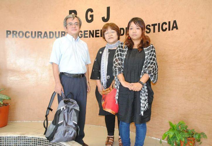 La familia japonesa viaja cada año a Cancún. (Eric Galindo/SIPSE)