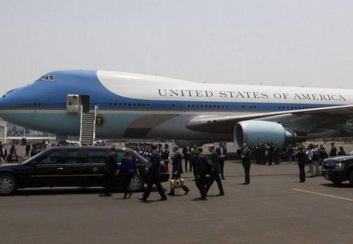 Reanuda AICM operaciones tras el despegue de la aeronave americana. (Notimex)
