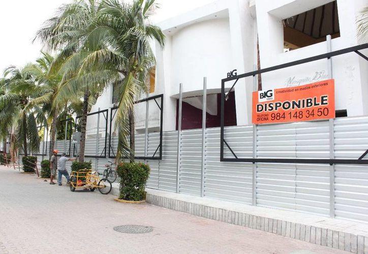 Este año se generaron alrededor de 40 desarrollos inmobiliarios en el centro de Playa del Carmen. (Adrián Barreto/SIPSE)