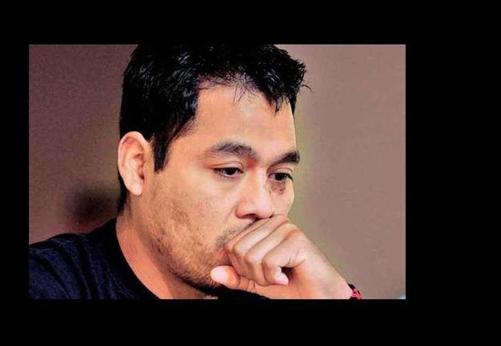 El vocero estudiantil de la Escuela Normal Rural Raúl Isidro Burgos de Ayotzinapa, Omar García Velázquez, criticó los daños colaterales que trajo consigo la guerra contra el narcotráfico. (Milenio)