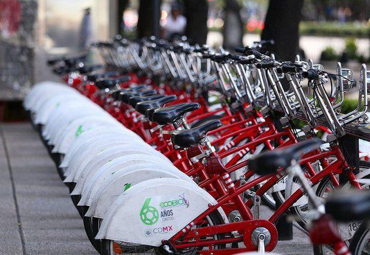 Jóvenes yucatecos desarrollan un sistema de transporte público sustentable con bicicletas, similar al Ecobici de CDMX, pero con novedosas aplicaciones tecnológicas. (Twitter: Ecobici)
