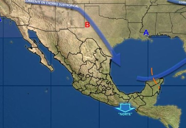 La temperatura mínima oscilará en los 16 grados centígrados en Chetumal.