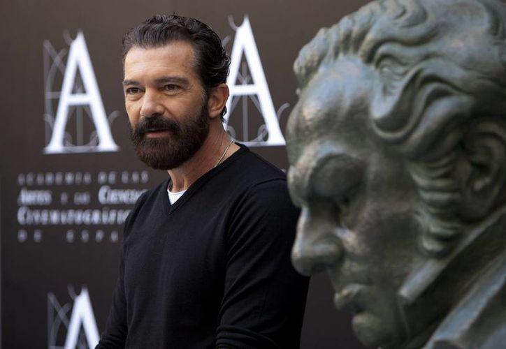 Antonio Banderas fue candidato al Goya como mejor actor en cuatro ocasiones. Sin embargo, nunca lo conquistó. (AP)