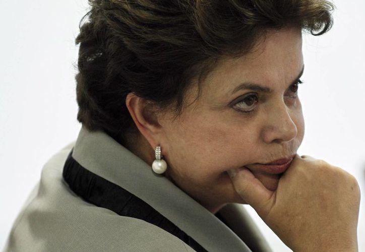 La presidenta Rousseff fue víctima de la represión. (Archivo/Agencias)