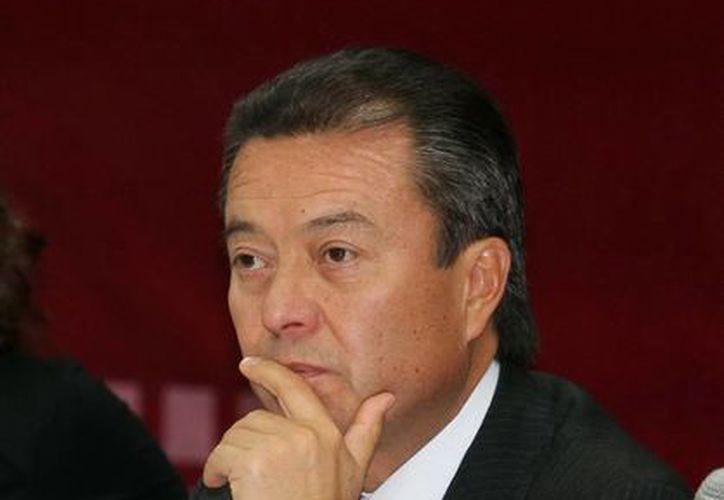 César Camacho Quiroz, líder nacional del PRI, considera que su partido tiene elementos suficientes para ganar. (Agencias)