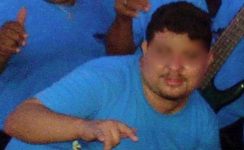 Mario Á. L., de 28 años, murió este lunes por la mañana. (Imágenes de Somos Tixkokob)