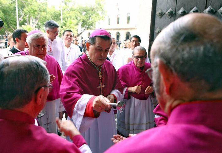 El Arzobispo yucateco preside uno de los departamentos del Celam. (Milenio Novedades)