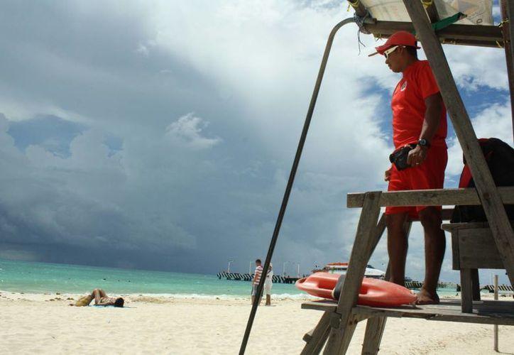 El operativo de seguridad para los bañistas inicia a partir del uno de julio. (Jesús Tijerina/SIPSE)