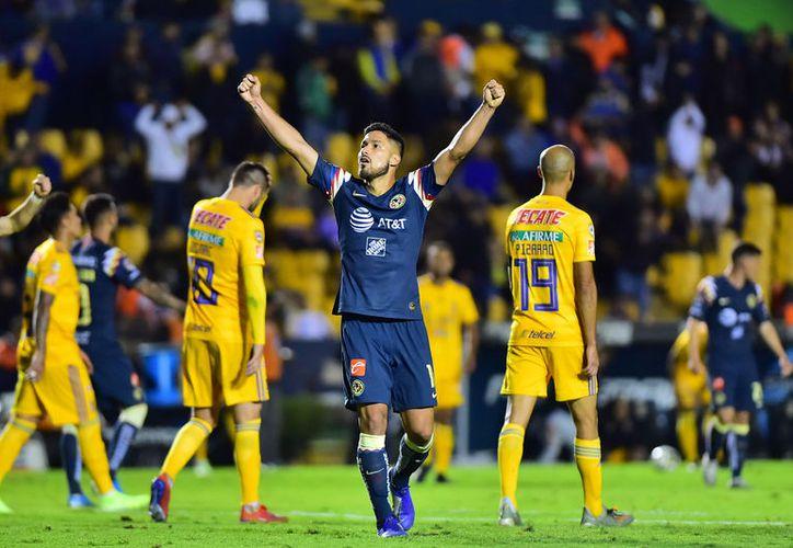 Águilas del América derrotó a Tigres de la UANL. (mexsport)