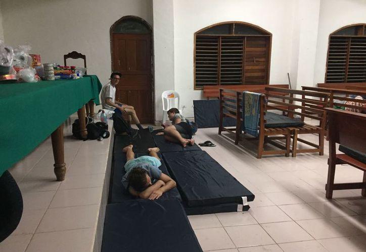 Las autoridades municipales confirmaron que los refugios pueden dar cobijo a los habitantes. (Javier Ortiz/SIPSE)