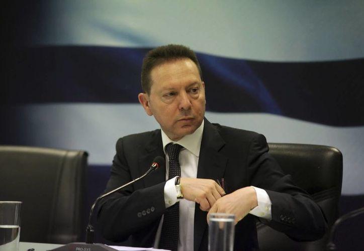 El ministro griego de Finanzas, Yannis Sturnaras. (Archivo/EFE)