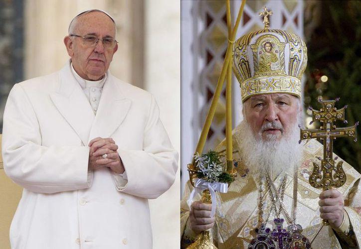 El Papa Francisco y el líder ortodoxo ruso Cirilo I se reunirán el próximo 12 de febrero en Cuba. (Agencias)