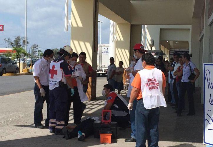 Hasta la fecha se han realizado 41 simulacros en Chetumal. (Harold Alcocer/SIPSE)