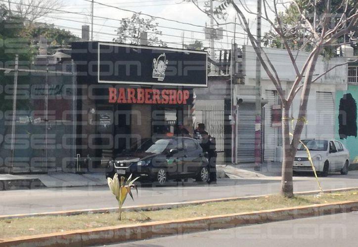 Los hechos ocurrieron en una barbería de la Supermanzana 232. (Pedro Olive/ SIPSE)