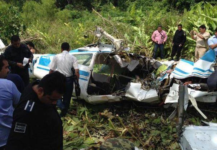 El accidente ocurrió entre los ejidos Francisco I. Madero y Río Florido.(twitter.com/gusmx2/@reformanacional)