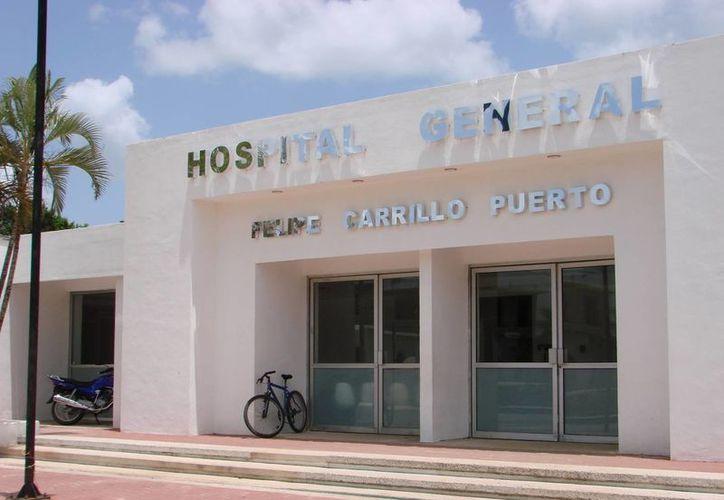 Personal del Hospital General confirmó que se registra una falta de medicinas. (Manuel Salazar/SIPSE)