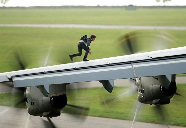 La quinta entrega de la franquicia de Paramount se centra en el espía Ethan Hunt (TomCruise) y su equipo. (screencrush.com/)