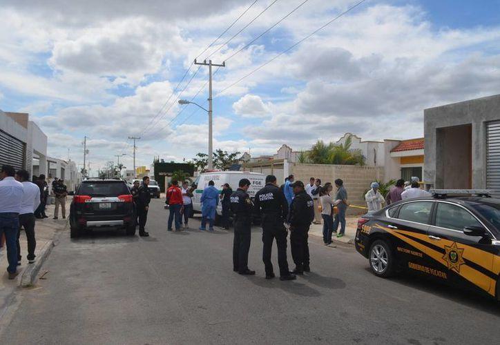 Esta es la calle del fraccionamiento Las Américas donde el 8 de febrero fue hallado el cadáver de un hombre asesinado. Hoy un adolescente, sospechoso del crimen, fue vinculado a proceso. (Carlos Navarrete/Milenio Novedades)