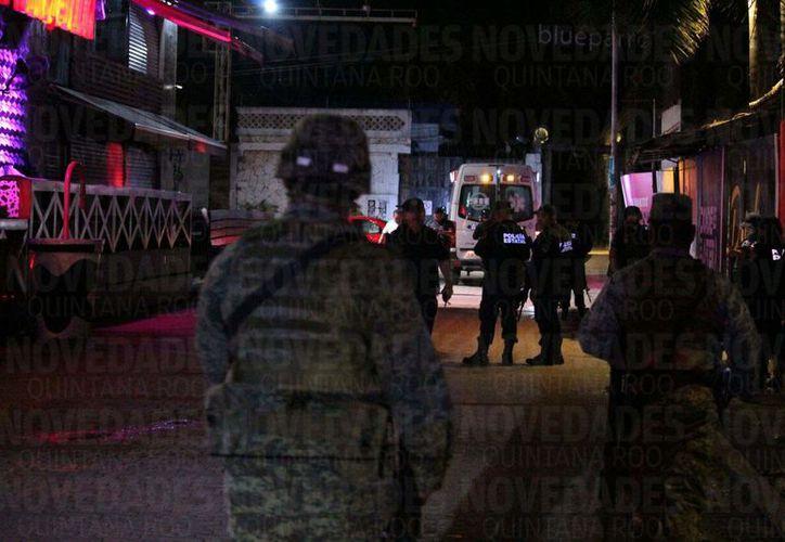 Tras los hechos se encontró que las detonaciones fueron causadas por armas de mano, las cuales fueron aseguradas por elementos de la Policía Estatal y el Ejército. (Foto: Octavio Martínez/SIPSE)