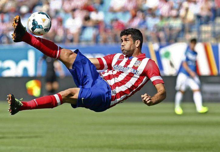 Diego Costa ha tenido un ascenso meteórico en su carrera, pues del Rayo Vallecano pasó al Atlético de Madrid, donde acaba de ser subcampeón de Europa. (clubatleticodemadrid.com)