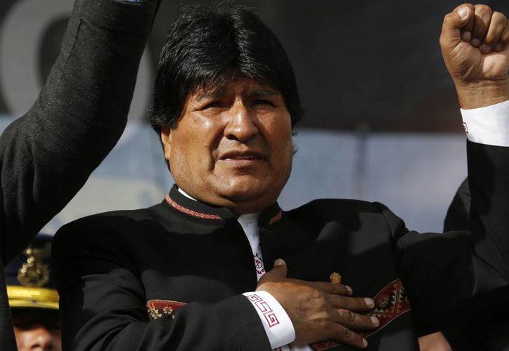 Evo Morales ve cada vez más distante la posibilidad de aspirar a un cuarto mandato como Presidente. (AP)