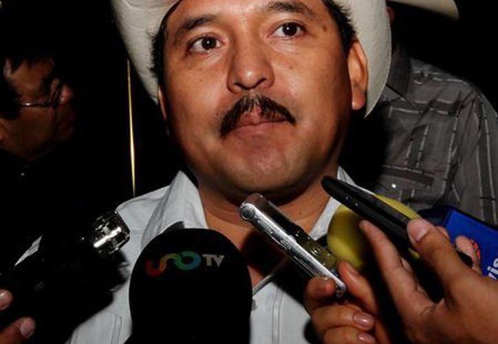 El representante yaqui, Mario Luna, dijo que están dispuestos a dialogar con la autoridad correspondiente. (Notimex)