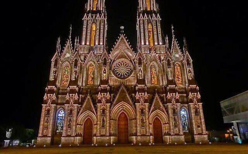 Concluyen En Zamora Michoacan La Catedral Mas Alta De America