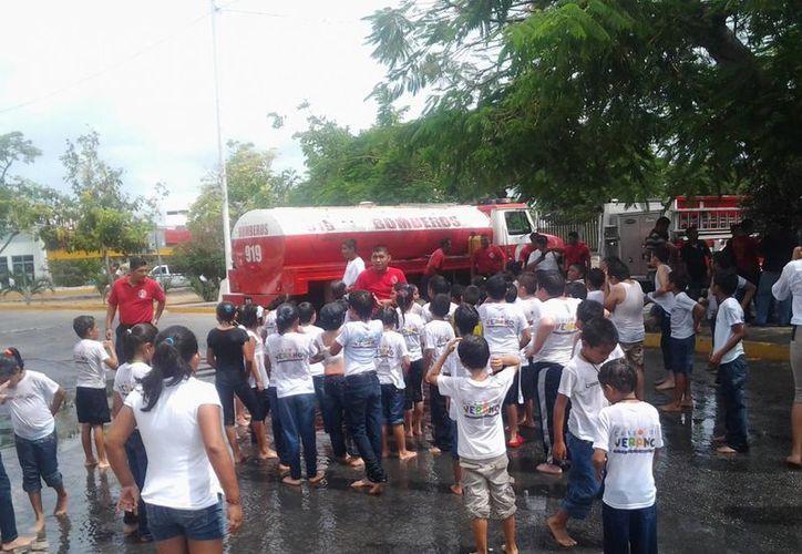 Se han capacitado a mil 300 niños de diversos niveles educativos, de un total de 20 escuelas. (Tomás Álvarez/SIPSE)