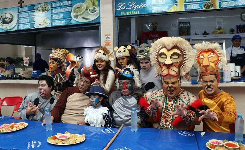 Dzereco y Nohoch presentan 'El Rey Chelón de Kanasín'  (Foto: Daniel Sandoval/Novedades Yucatán)