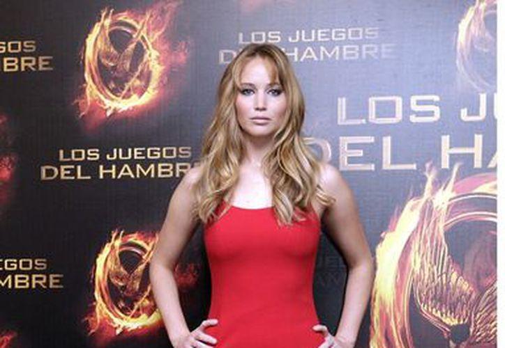 Jennifer Lawrence, protagonista de Los Juegos del Hambre. (Agencia Reforma)