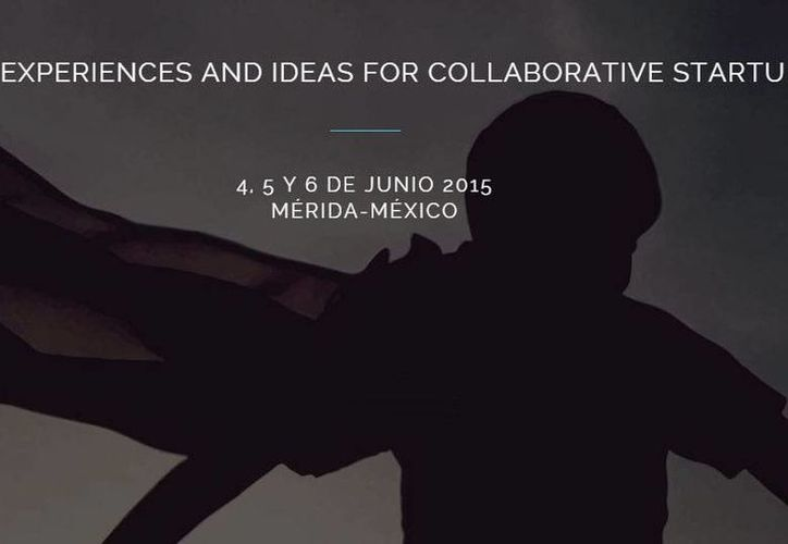 Portada de la página web oficial del Joint Experiences and Ideas For Collaborative Startups que se realizará en Yucatán. (Captura de pantalla)