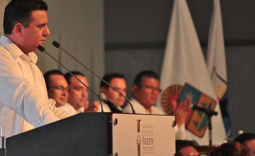 Freddy Marrufo Martín se amparó luego de que se solicitó que sea investigado por manejo indebido de recursos públicos. (Archivo/SIPSE)