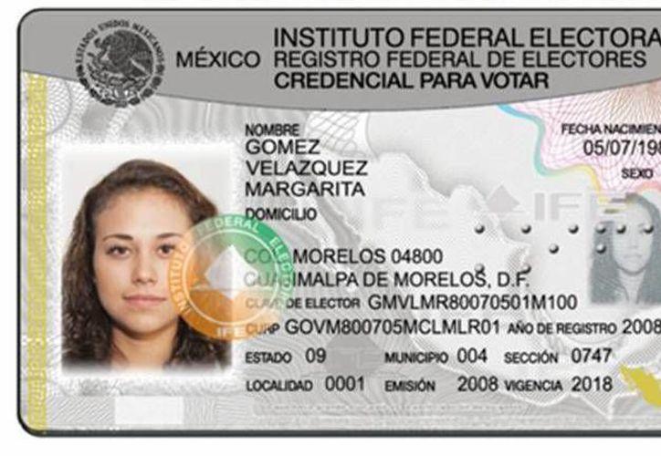 Los estados de México, Jalisco, Michoacán y el Distrito Federal son las entidades con más credenciales a reemplazar. (Archivo/SIPSE)