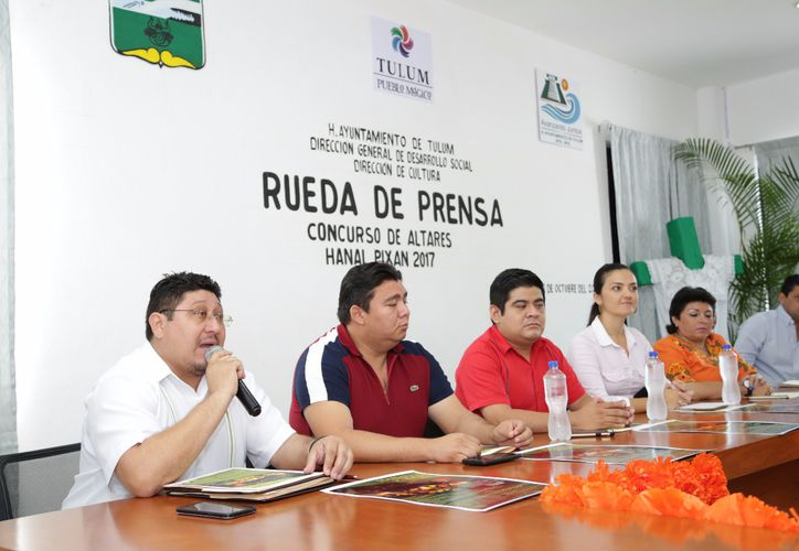 Las autoridades dieron a conocer las actividades que se desarrollarán durante una rueda de prensa. (Cortesía)
