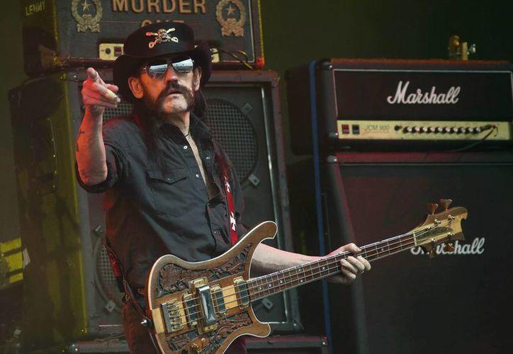 """El metalero """"Lemmy"""" Kilmister falleció el pasado 28 de diciembre a los 70 años tras una breve batalla contra un tipo de cáncer agresivo. (Archivo de AP)"""