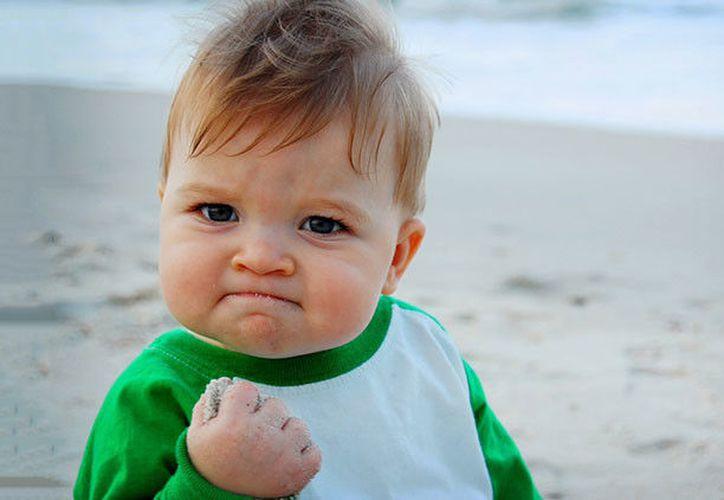 Sammy Griner es el rostro del 'meme triunfal', una de las imágenes más populares de la Red. (Flickr).