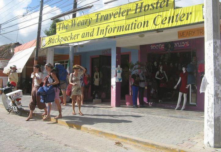 Los hoteles y restaurantes reportan ocupaciones turísticas por debajo del 70%. (Rossy López/SIPSE)
