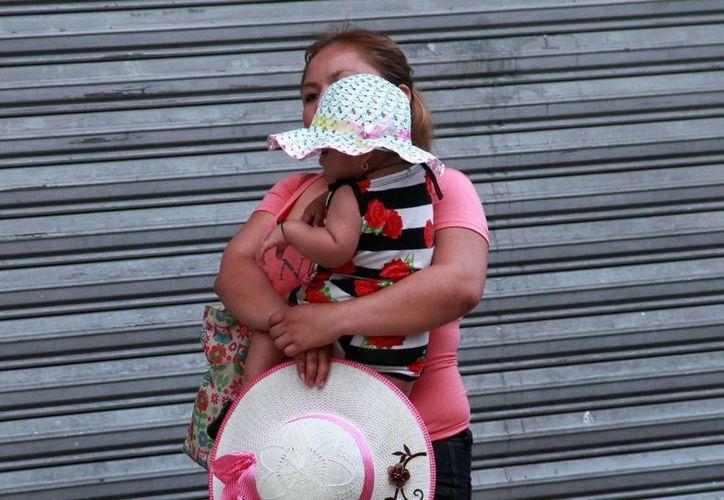 El domingo, la temperatura máxima registrada en Mérida fue de 37.5 grados. (Milenio Novedades)