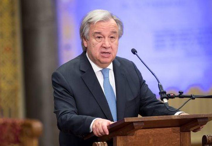 El deseo de año nuevo de Guterres es que los líderes mundiales reduzcan sus diferencias. (Reuters)