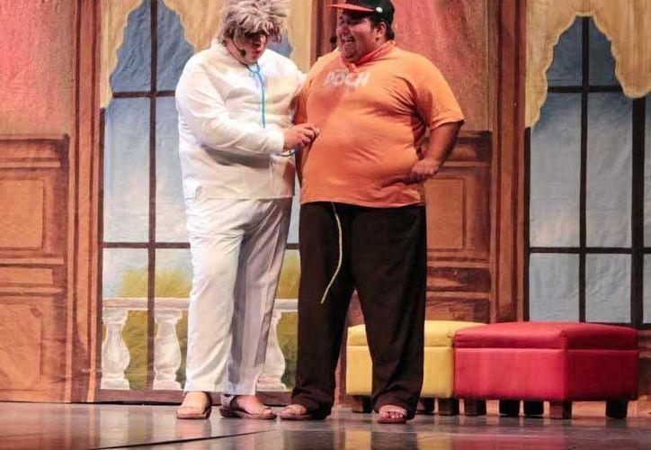 Los comediantes estarán acompañados  de la Orquesta Típica de Yukalpetén y el Ballet del estado 'Alfredo Cortés Aguilar'.(Milenio Novedades)