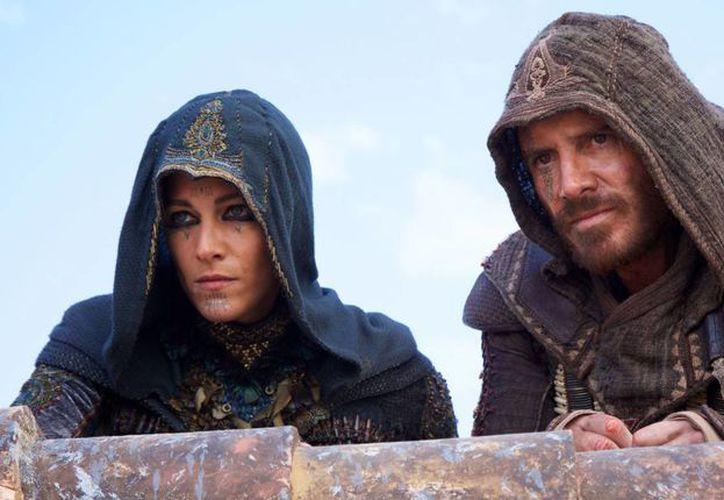 Michael Fassbender en una escena de Assassin's Creed'.(Foto tomada de foxmovies.com)