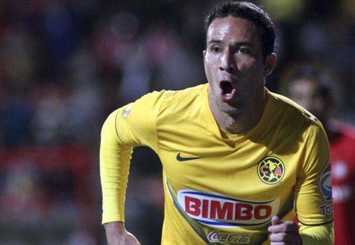 Luis Gabriel Rey se destapó con un triplete en el partido de visita y de vuelta del América ante el Bayamón en Concahampions. (goal.com)