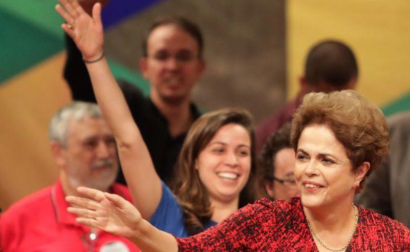 El Senado de Brasil está próximo a votar si separa definitivamente del cargo a la presidenta Dilma Rousseff. (AP/Eraldo Peres)