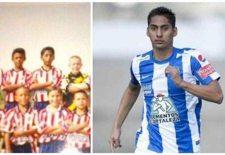 Hugo Rodríguez juega ahora con Pachuca, que lo catapultó a la Selección Nacional. (Foto especial tomada de Milenio)