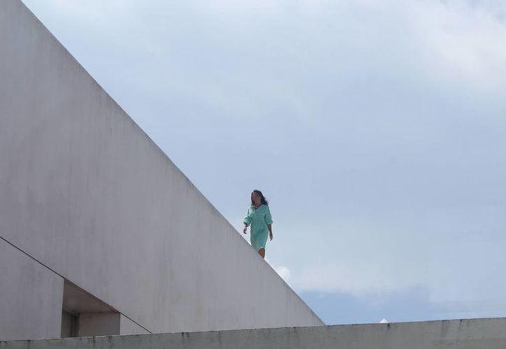 La mujer subió al techo del Hospital General de Playa del Carmen, intentaba suicidarse por segunda ocasión. (Redacción/SIPSE)