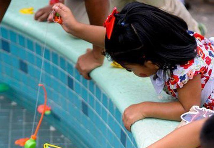 Con juegos tradicionales, celebraron en el Caimede el Día del Niño. (Cortesía)